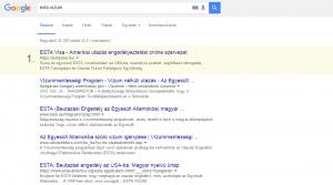 Keresőoptimalizálás: estavisa.hu